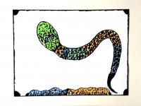 robillard-le-cobra-indien-24x32-cm