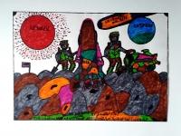 robillard-sur-le-sol-lunaire-42x30-cm