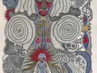 les-yeux-ouverts-encre-et-crayon-de-couleur-sur-papier-arche-76x57-cm-2020