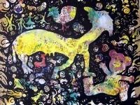 sans-titre-2004-emulsion-et-encre-de-chine-sur-papier-vinci_-maroufle-sur-toile-120-x-140-cm