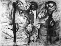 50-x-65-cm-les-arbres-pastel-noir-sur-papier
