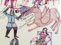 8moha-stylo-bille-sur-papier-42x30-cm