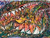 shawn-mackniak_swallowed-whole_2011_-aquarelle-sur-papier_45-5cm-x-76cm